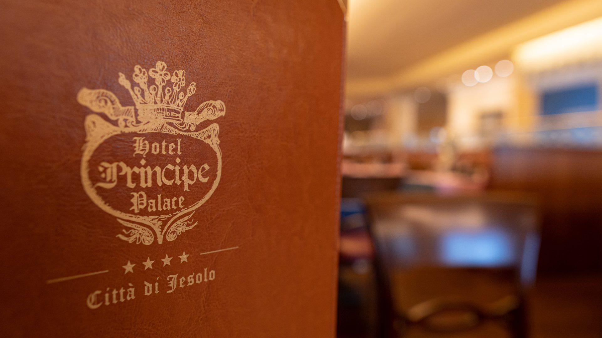 Ristorante albergo Hotel Principe Palace in Piazza Mazzini a Jesolo Lido Italy