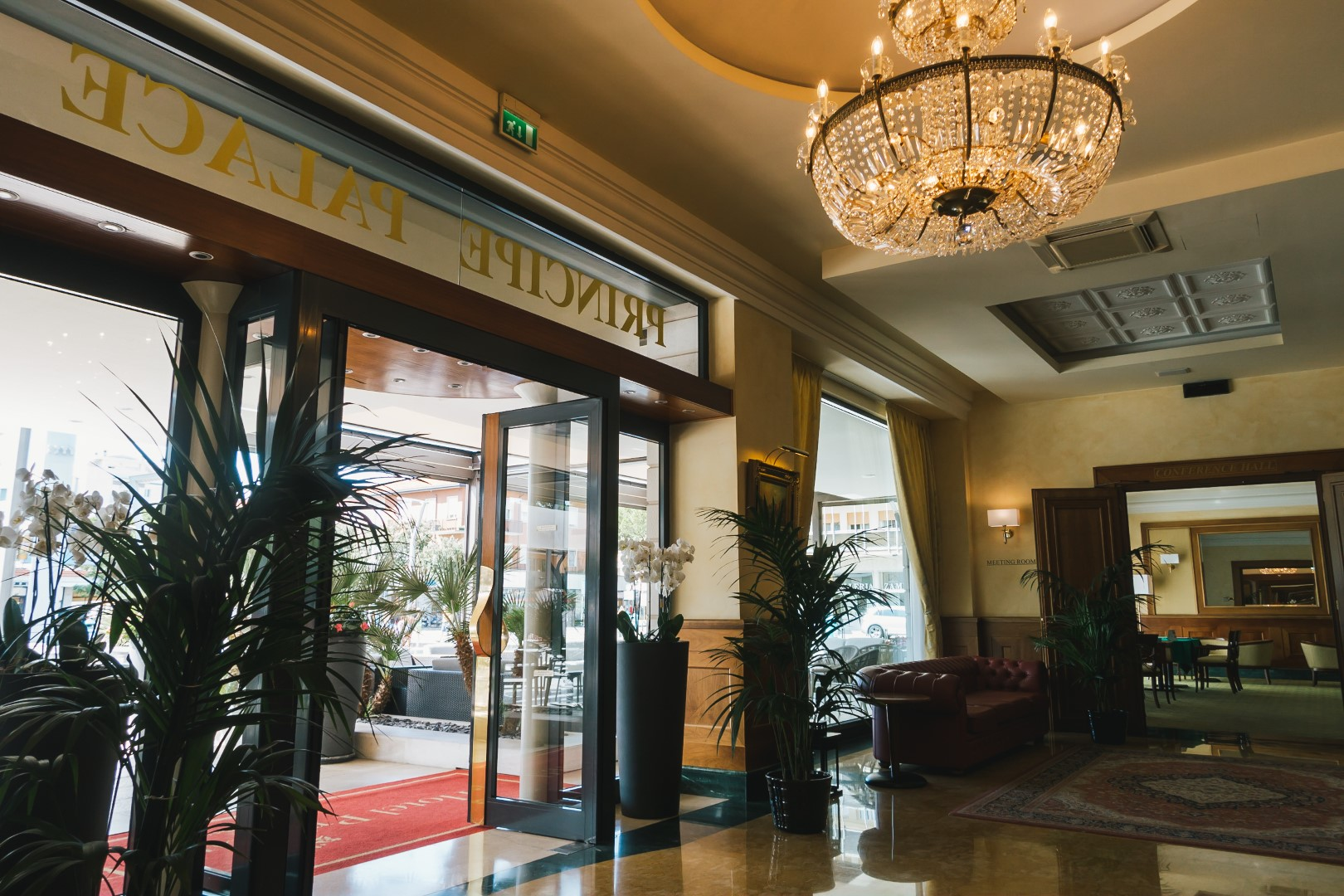 Reception Hotel Principe Palace Jesolo Lido VE Piazza Mazzini