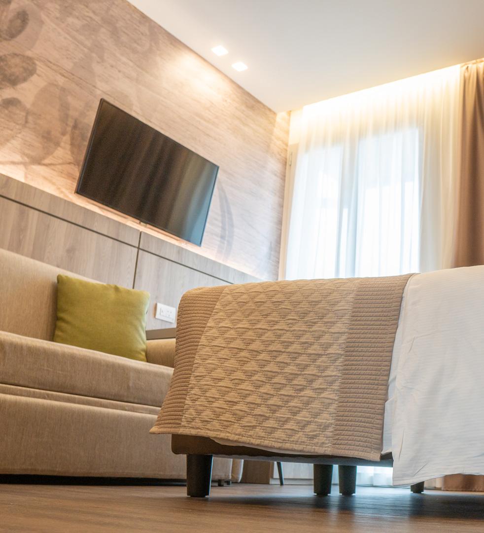 Camera DeLuxe Hotel Principe Palace Piazza Mazzini Jesolo Lido VE
